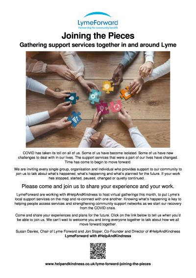 LymeForward: Gathering support services together in and around Lyme