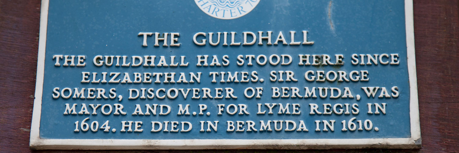 Guildhall blue plaque