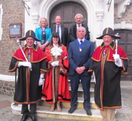 Mayor pledges to achieve best for the town during second term