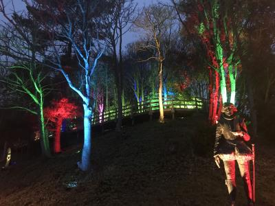 Gardens lights adding sparkle to Christmas