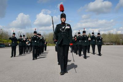 Rifles to march through Lyme Regis in Great War centenary year
