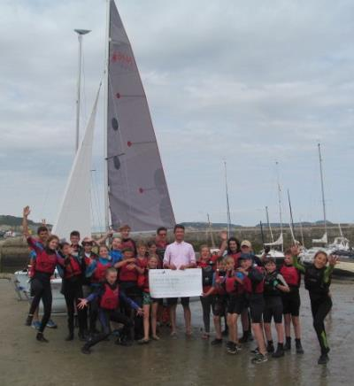 Town council funding helps sailors develop skills
