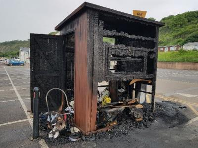 Barbecue warning issued following Lyme Regis fire