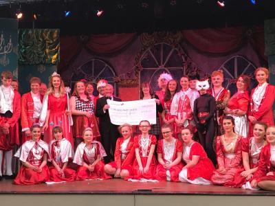 Council grant helps set the scene for annual panto