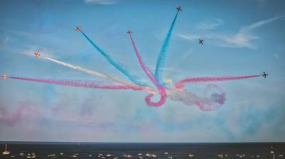 No Red Arrows display for Lyme Regis in 2018