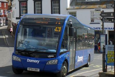 COVID-19: Lyme Regis town bus service suspended from 6 April